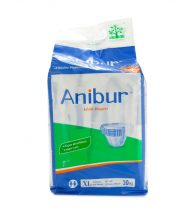 Anibur Adult Diapers 10's (Xl)