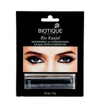 BIOTIQUE BIO KAJAL (NOURISHING & CONDITIONING KAJAL WITH ALMOND OIL 3G