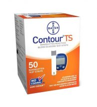 Contour Ts Blood Glucose Test Strip 50's