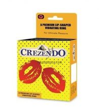 Crezendo A Premium Lip-Shaped Vibrating Ring