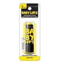Maybelline Baby Lips Spf20 Lip Balm Lemon Flavor Fierce N Tangy