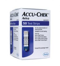 Accu-Chek Aviva Blood Glucose Test Strip 50's